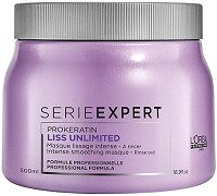 Loreal Serie Expert Liss Unlimited Maske 500 ml